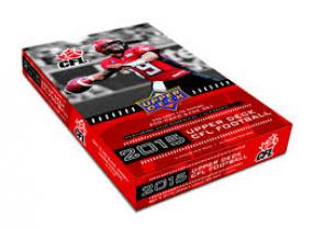 2015 Upper Deck CFL Hobby Box Upper Deck | Cardboard Memories Inc.