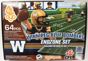 CFL OYO Winnipeg Blue Bombers Endzone Set Oyo Figures | Cardboard Memories Inc.