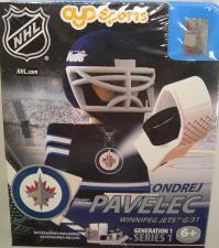 NHL OYO Winnipeg Jets Ondrej Pavelec Oyo Sports | Cardboard Memories Inc.