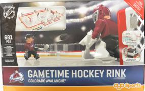 NHL OYO Gametime Hockey Full Rink Colorado Avalanche Oyo Sports | Cardboard Memories Inc.