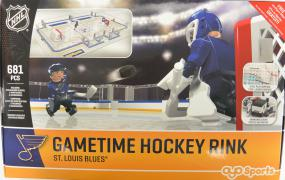 NHL OYO Gametime Hockey Full Rink St. Louis Blues Oyo Sports | Cardboard Memories Inc.