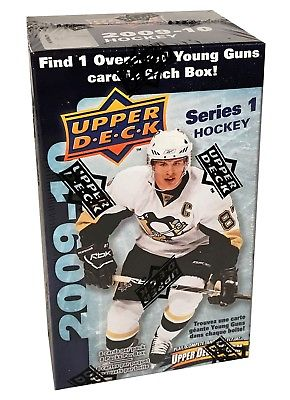 2009-10 Upper Deck Series 1 Hockey Blaster Box