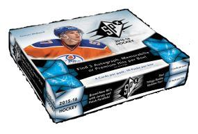 2015-16 Upper Deck SPX Hockey Hobby Box Upper Deck | Cardboard Memories Inc.