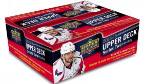 2015-16 Upper Deck Series 2 Hockey Retail Box Upper Deck | Cardboard Memories Inc.