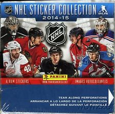 2014-15 Panini Hockey Sticker Box Panini | Cardboard Memories Inc.