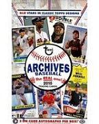 2015 Topps Archives Baseball Hobby Box Topps | Cardboard Memories Inc.