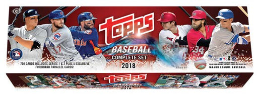 Topps 2018 Baseball Complete Set (Pre-Order) July 4th 2018 Topps | Cardboard Memories Inc.