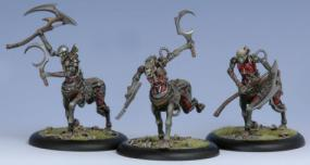 Warmachine - Cryx Soulhunters Light Cavalry Unit PIP 34121 Privateer Press | Cardboard Memories Inc.