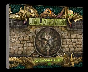 Iron Kingdoms Unleashed - Catacomb Tiles PI423P Privateer Press | Cardboard Memories Inc.