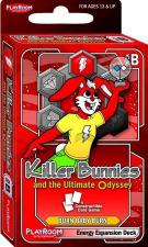 Killer Bunnies & the Ultimate Odyssey - Energy Expansion Deck Playroom Entertainment | Cardboard Memories Inc.