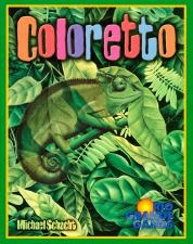 Coloretto Rio Grande Games | Cardboard Memories Inc.