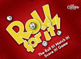 Roll For It! - Red Calliope Games | Cardboard Memories Inc.