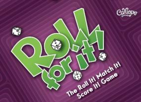 Roll For It! - Purple Calliope Games | Cardboard Memories Inc.