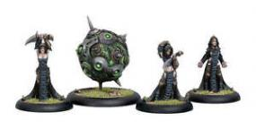 Warmachine - Cryx - Witch Coven of Garlghast & the Egrogore - PIP 34035 Privateer Press | Cardboard Memories Inc.