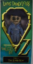 Living Dead Dolls - Lost in Oz - Purdy as the Scarecrow Mezco Toys | Cardboard Memories Inc.