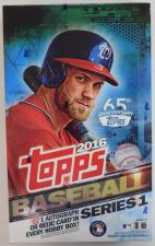 2016 Topps Baseball Series 1 Hobby Box Topps | Cardboard Memories Inc.