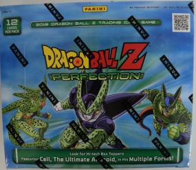 2016 Panini Dragon Ball Z Perfection Booster Box Panini | Cardboard Memories Inc.