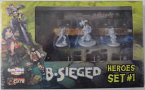 B-Sieged - Heroes Set #1 Cool Mini or Not | Cardboard Memories Inc.