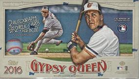 2016 Topps Gypsy Queen Baseball Hobby Box Topps | Cardboard Memories Inc.