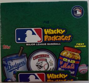 2016 Topps Baseball 1st Ed. Wacky Packages Hobby Box Topps | Cardboard Memories Inc.