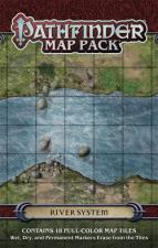 Pathfinder Map Pack - River System Paizo | Cardboard Memories Inc.