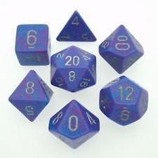 Chessex Dice - Speckled Silver Tetra - Set of 7 (CHX 25347) Chessex | Cardboard Memories Inc.