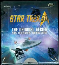 2016 Star Trek - The Original Series 50th Anniversary Hobby Box Rittenhouse | Cardboard Memories Inc.