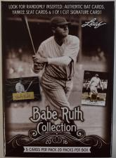 2016 Leaf Babe Ruth Collection Baseball Hobby Box Leaf | Cardboard Memories Inc.
