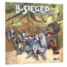 B-Sieged Encampment Tile Set Cool Mini or Not | Cardboard Memories Inc.