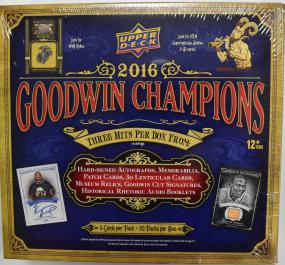 2016 Upper Deck Goodwin Champions Baseball Hobby Box Upper deck | Cardboard Memories Inc.