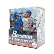 2016 Bowman Chrome Baseball Hobby Box Topps | Cardboard Memories Inc.