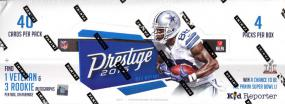 2016 Panini Prestige Football Hobby Box Panini | Cardboard Memories Inc.