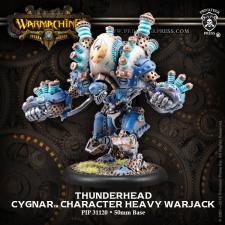 Warmachine- Cygnar Thunderhead Heavy Warjack PIP 31120 Privateer Press | Cardboard Memories Inc.