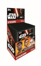 2016 Topps Star Wars Stickers Box Topps | Cardboard Memories Inc.