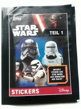 2016 Topps Star Wars Stickers Packet Topps | Cardboard Memories Inc.