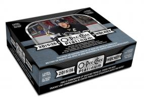 2015-16 Upper Deck O-Pee-Chee Platinum Hockey Hobby Box Upper Deck | Cardboard Memories Inc.