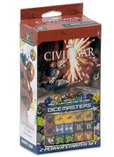 Dice Masters - Civil War 2-Player Starter Set Wizkids | Cardboard Memories Inc.