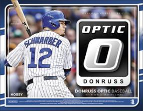 2016 Panini Donruss Optic Baseball Hobby Box Panini | Cardboard Memories Inc.