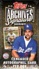 2016 Topps Archives Signature Series Baseball Hobby Box Topps | Cardboard Memories Inc.