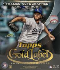 2016 Topps Gold Label Baseball Hobby Box Topps | Cardboard Memories Inc.