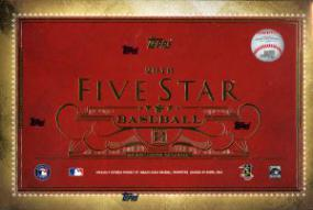 2016 Topps Five Star Baseball Hobby Box Topps | Cardboard Memories Inc.