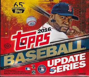 2016 Topps Baseball Update Series Jumbo Box Topps | Cardboard Memories Inc.