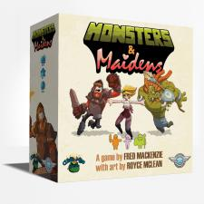 Monsters & Maidens Card Game Indie Board and Cards | Cardboard Memories Inc.