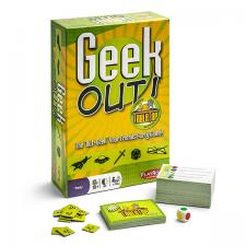 Geek Out! Tabletop Limited Edition Playroom Entertainment | Cardboard Memories Inc.