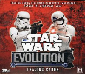 2016 Topps Star Wars Evolution Hobby Box Topps | Cardboard Memories Inc.