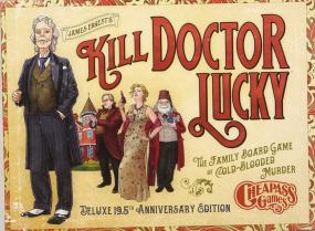 Kill Doctor Lucky Deluxe 19.5th Anniversary Edition Cheapass Games | Cardboard Memories Inc.