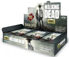 2016 Cryptozoic Walking Dead Season 4 Part 1 Hobby Box Cryptozoic | Cardboard Memories Inc.