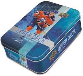 2016-17 Upper Deck Series 1 Hockey Tin Upper Deck | Cardboard Memories Inc.