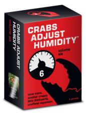 Crabs Adjust Humidity Volume Six Vampire Squid Cards | Cardboard Memories Inc.