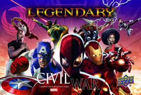 Marvel Legendary Deck Building Game - Civil War Upper Deck | Cardboard Memories Inc.